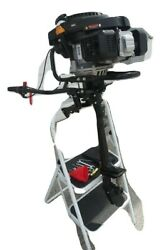 9 Hp Outboard 4 Stroke Outboard Engine Air Cooled Jon Boat Zodiac Inflatable