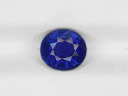 Gia Igi Certified Madagascar Blue Sapphire 1.34 Cts Natural Untreated Oval