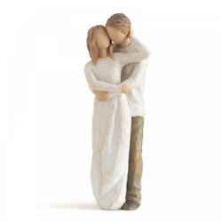 Willow Tree Together 26032 Man Woman Couple Figurine Gift Brand New And Boxed