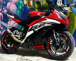 Na Abs Plastic Red Black Injection Fairing Fit For Yamaha 2008-2016 Yzf R6 S002