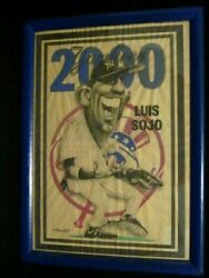 Luis Sojo Yankees Baseball Signed Murawinski Poster W/2 2006 Tickets And More Co