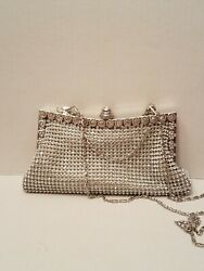 Rhinestone clutch evening special occasion prom free shipping $23.00
