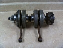 Yamaha 650 Twin Xs650-sg Special Xs 650 Used Engine Crankshaft And Rods 1980 Yb9