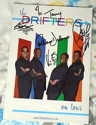 Signed By Four Drifters-three Tour Programmes 2004/5/6 Vg