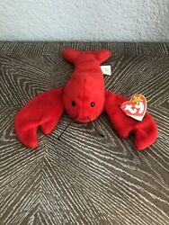 Ty Beanie Baby Pinchers The Lobster, Style 4026, Date Of Birth 6/19/1993