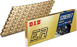 Did 520 Erv7 Gold X-ring Chain 114 Links Hm-moto Cre B 125 2t Six Comp 2011-2013