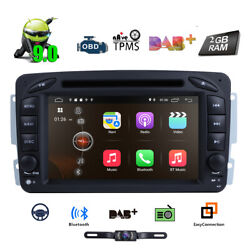 For Mercedes Benz W203 C200 C230 G-w463 Clk Radio Dvd Gps Nav Car Stereo Android