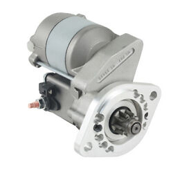 New 9t Starter Fits Fit Satoh Tractor S650g S-650g Bison 028000-2890 0280002890