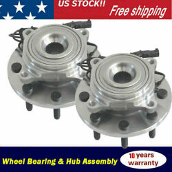 4x4 Front Wheel Bearing And Hub For 2009 2010 2011 Dodge Ram 2500 3500 W/ Abs