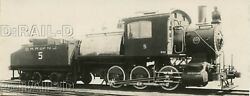 9dd933 Rp 1901/50s Crr Of Nj Central Railroad New Jersey 0-6-0c Locomotive 5