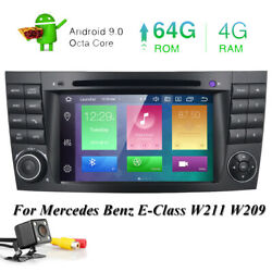 For Mercedes-benz E-w211 W219 7 Android 4gb Car Stereo Dvd Gps Radio Head Unit