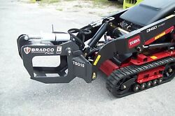 Mini Skid Steer Loaders Tree And Shrub Grapple,by Bradco Fits Most Mini Loaders
