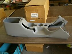 Nos Oem Ford 2001 2004 Mustang Console Base 2002 2003 Gt Cobra Graphite Grey