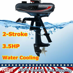 2-stroke 3.5hp Outboard Motor Boat Engine Cdi System Water Cooling 4k-5k Rpm New