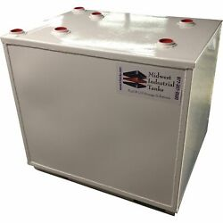 Midwest Industrial Tanks Double-Wall Storage Fuel Tank 50-GallonLg