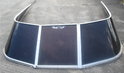 1995 Bayliner Capri 2250 Ss 22and039 Boat Windshield Window Glass Curved Walk Through