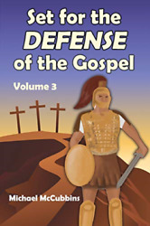 Mccubbins Michael Set For The Defense Of The Gos BOOK NEW $19.95