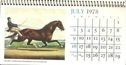1978 Calendar  The Harry T. Peters Collection  Advertising Calendar