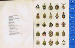 Fraternal, Union And Social Society Emblems - 1895 Chromolithograph