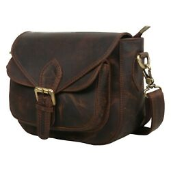 Ancient Look Pre Buffalo Oil Wax Leather Ladies Sling Bag