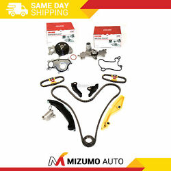 Timing Chain Kit Water Pump W/ 3 Bolt Flange Fit 15-17 Ford Mustang Transit 3.5l