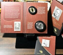 2015 Harry S. Truman Coin And Chronicles Presidential Set Box And Coa