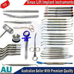 Sinus Lift Instruments Elevators Chisel Dental Implant Surgery All In One Dental