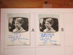 2020 The Twilight Zone Archives Billy Mumy Inscription Autograph Ai-23 - A