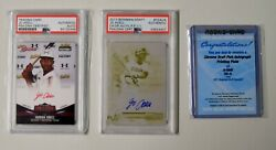 Jo Adell Signed 2017 Bowman Chrome Draftgold Printing Plate 1/1 Ssp Psa 10 Auto