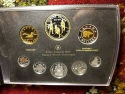 Canada 2012 All Fine Silver Proof Set Has Gold Plated Silver Penny War 1812.