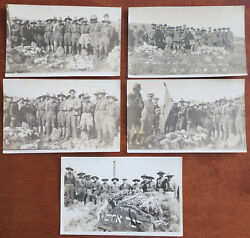 Jabotinskyand039s And Betar Soldiers Near Tomb Of Trumpeldor 5 Real Photos Palestine