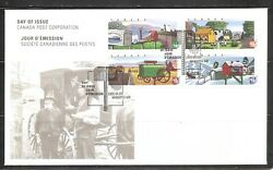 Canada Sc 1849-1852 Decorated Rural Mailboxes Fdc. Ashton Potter