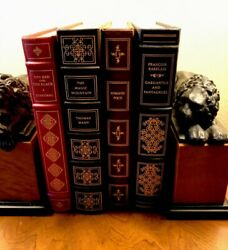 Franklin Library Classics Lot Of 4 Of 100 Greatest Classics Mint Condition