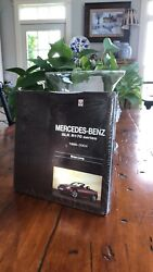 Mercedes-benz Book Collectable New From Dealership In 2005