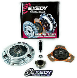 Exedy Racing Stage 2 Thin Clutch Kit For 1990-91 Honda Civic Wagon 4wd 1.6l Sohc