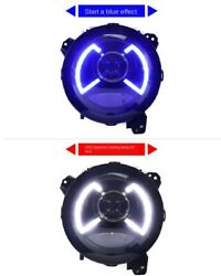 All Led Headlight Assembly Projector Drl 9 2pcs For Wrangler Jl 2018-2020 2019