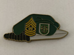 Special Forces Command Airborne Command Sergeant Major Excellence Coin B18