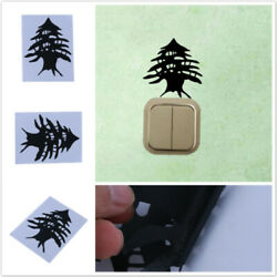 Removable Plant Art Decal Self adhesive Background Wall Tree Switch Sticker FM