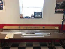 1959 Chevy 4 Door All Stainless Steel Rocker Panel Repair Kit Nos Gm Accessory