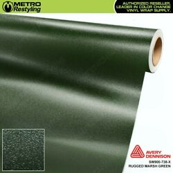 Avery Sw900-738-x Rugged Marsh Green Vinyl Vehicle Car Wrap Decal Sheet Roll