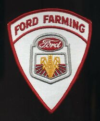 Vintage 1960's Ford Farming Tractors Equipment Advertising Emblem Patch