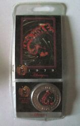 New Sealed Rare Retired Disney Collectible Coin Sci-fi The Black Hole 1979