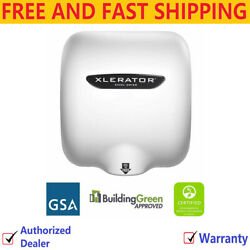 New Excel Xl-bw Xlerator Automatic Hand Dryer Quick Dry 120v Fast Hand Dryer