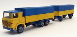 Nacoral 1/50 Scale Mat041 - Scania 140 Covered Truck And Trailer