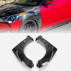 For Hyundai Veloster 2012-2017 Carbon Fiber Front Side Door Fender Replacement