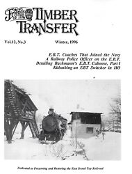 Ebt Timber Transfer Winter 1996 Coaches Join Navy Railway Police Steam Switcher