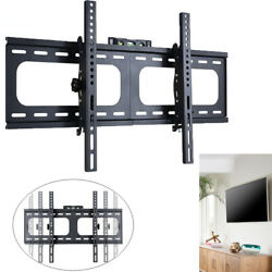 Strong Thick Fixed Tv Wall Bracket Vesa Mount For Lcd Led Plasma 26-75 Screen