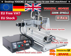 【uk】2200w 220v 6040 Usb Mach3 Cnc Router Engraver Engraving Carving Mill Machine