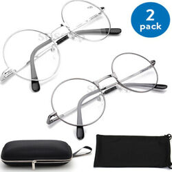 READING SUNGLASSES Metal Wired Oval Round READERS for Men Women 1.5 2.0 2.5 3.0 $12.99