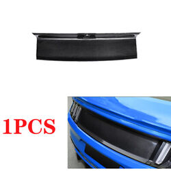 Dry Carbon Fiber Rear Trunk Peanl Cover Decor 1pc Fit For 2015-2020 Ford Mustang